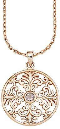 Amor Women's Necklace with Decorative Pendant 925 Silver partly Rose Gold-Plated Zirconia 50 cm 511544