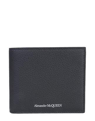 Alexander McQueen Leather Bifold Wallet