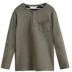 MANGO Pocket cotton t-shirt