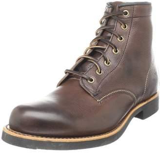Frye Men's Arkansas Mid Lace Boot Dark Brown