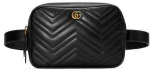 Gucci GG Marmont Matelasse Belt Bag