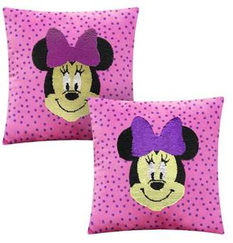 Disney Minnie Mouse Sequin Reversible Throw Pillow