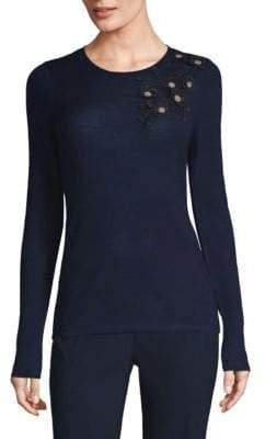 Elie Tahari Nani Wool Sweater