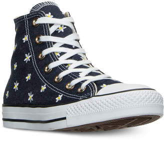 Converse Chuck Taylor Hi Daisy Print Casual Sneakers from Finish Line