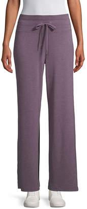ST. JOHN'S BAY SJB ACTIVE Active Womens Wide Leg Drawstring Pants