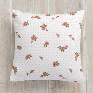 Pretty in Pink Square Pillow