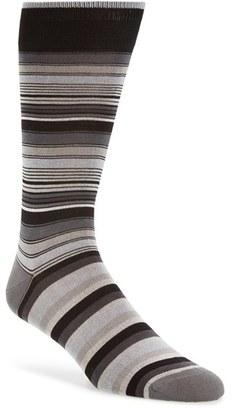 Men's Bugatchi Stripe Socks $19.95 thestylecure.com