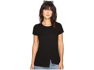 Kensie Slubby Rib Jersey Top KS3K3578 Women's Clothing