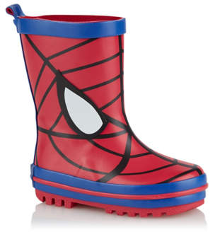 George Marvel Spider-Man Red Wellington Boots