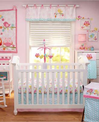 NoJo Love Birds 4 Piece Crib Bedding Set Bedding