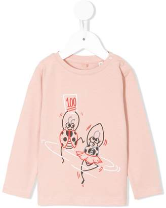 Stella McCartney Ladybugs print T-shirt