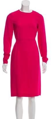 Stella McCartney Crepe Long Sleeve Dress w/ Tags