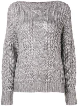 Snobby Sheep mesh knit sweater