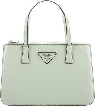 pradaPrada Spazzolato Double-Zip Bag