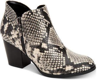 Style&Co. Style & Co Masrinaa Ankle Booties, Created for Macy's Women's Shoes