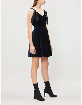 Claudie Pierlot Rimy velvet dress