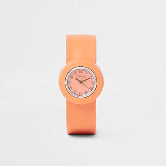 River Island Boys orange pop watch