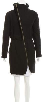 Nina Ricci Fitted Asymmetrical Coat