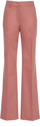 Agnona Wool Cashmere Flannel Straight Pant