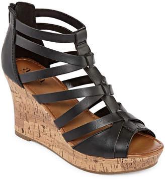 A.N.A Maxwell Womens Wedge Sandals
