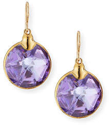 Devon Leigh Lucky Star Cubic Zirconia Drop Earrings