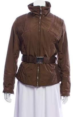 Post Card Fleece-Lined Belted Jacket