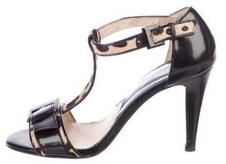 MICHAEL Michael Kors Patent Leather High Heel Sandals