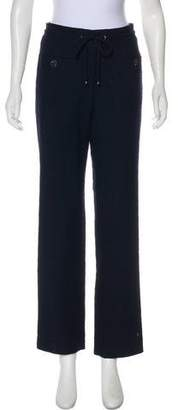Chanel Mid-Rise Straight-Leg Pants w/ Tags