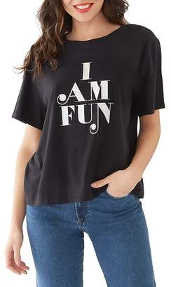 ban.do I Am Fun Boyfriend Tee