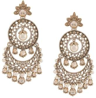Marchesa chandelier pearl earrings
