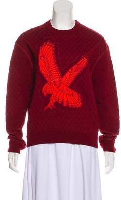 Stella McCartney Quilted Embroidered Sweatshirt w/ Tags