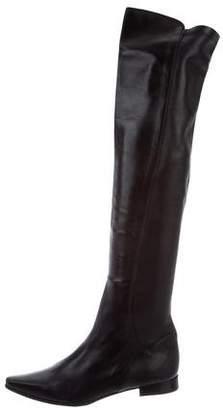 Duccio Del Duca Knee-High Leather Boots