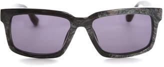 Raf Simons Black Marble Sunglasses