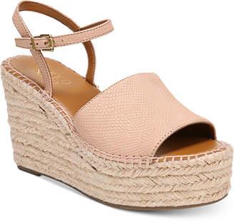 Franco Sarto Tula Platform Espadrille Wedge Sandals