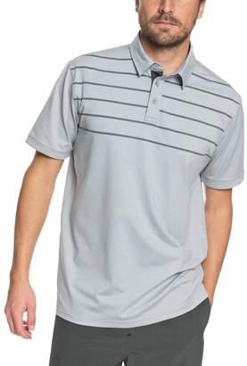 Quiksilver Waterman Striped Reel Backlash Polo - Men's