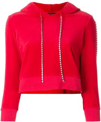 Juicy Couture (ジューシー クチュール) - Juicy Couture Swarovski embellished velour hoodie