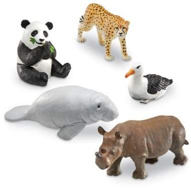 Learning Resources® Jumbo Endangered Animals
