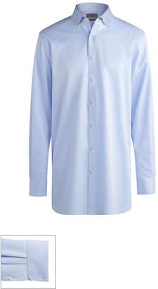 John W. Nordstrom R) Made to Measure Extra Trim Fit Short Spread Collar Solid Dress Shirt