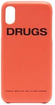 Raf Simons Leather iPhone® X case