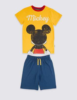 Marks and Spencer Mickey Mouse Pyjama Set (2-10 Years)