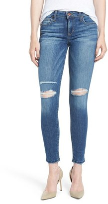 Women's Joe's 'Icon' Ripped Ankle Skinny Jeans $179 thestylecure.com