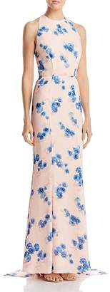Jarlo Blanche Floral Column Gown - 100% Exclusive