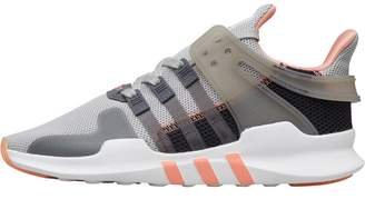 adidas Womens EQT Support ADV Trainers Grey Two/Grey Five/Chalk Coral