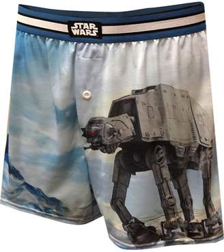 Star Wars Mad Engine Where Am I AT-AT Boxer Shorts for men