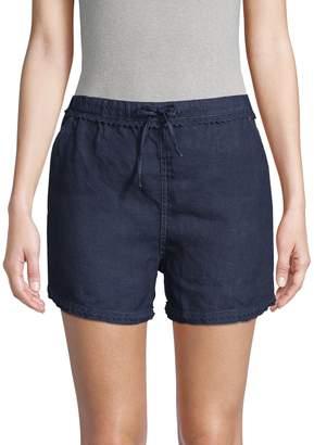 Raffi Drawstring Linen Shorts