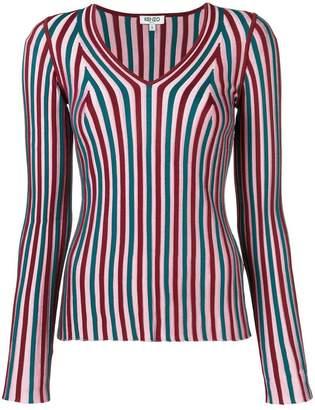 Kenzo striped knit top