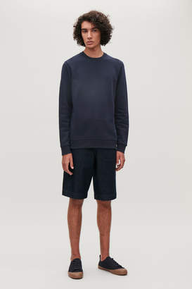 Cos SWEATSHIRT WITH ELBOW PATCHES