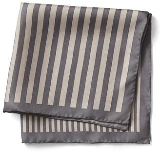 Banana Republic Multi Stripe Silk Pocket Square