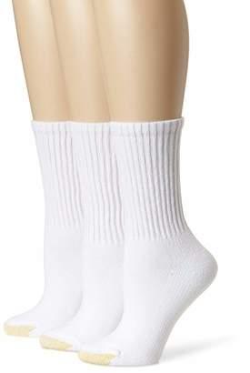 Gold Toe Women's 3 Pack Ultratec Crew Socks