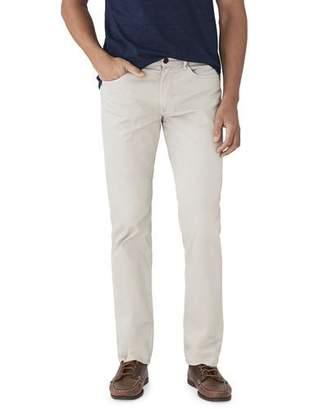 Faherty Men's Comfort Twill Five-Pocket Pants